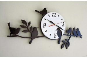 "Часы ""Птички на ветке"" CHS-06"