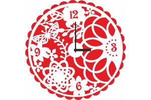 """Часы """"С бабочками"""" CHS-08"""