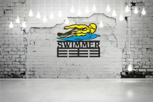 "Медальница Плавание ""SWIMMER"" MPN-02"